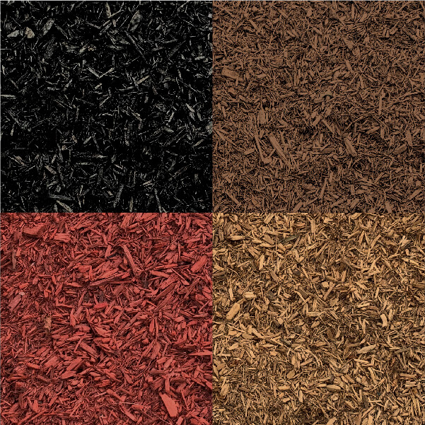 Spring Valley Colored Mulch